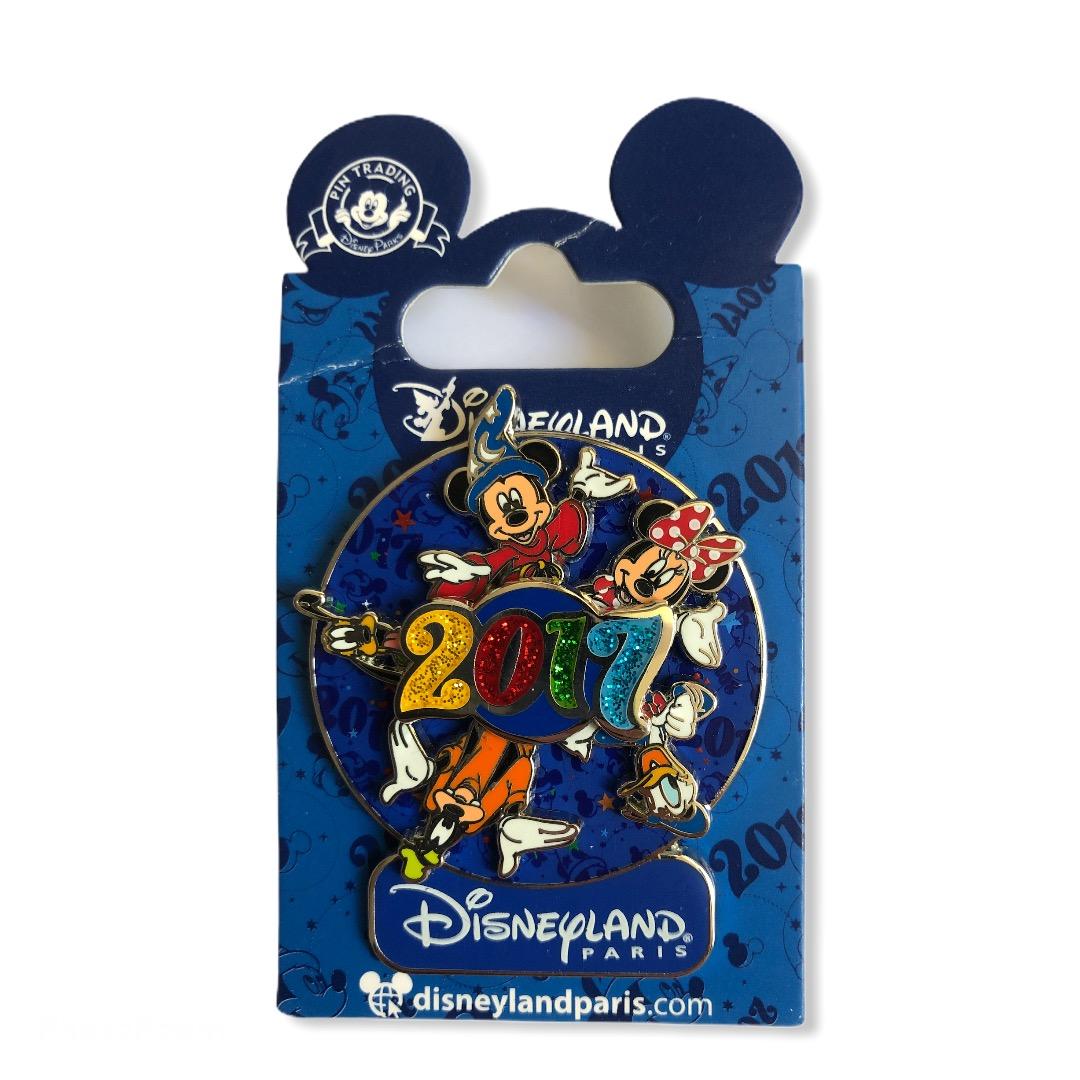 Disney - Mickey et ses amis : Pin\'s Gang Spinner 2017 OE