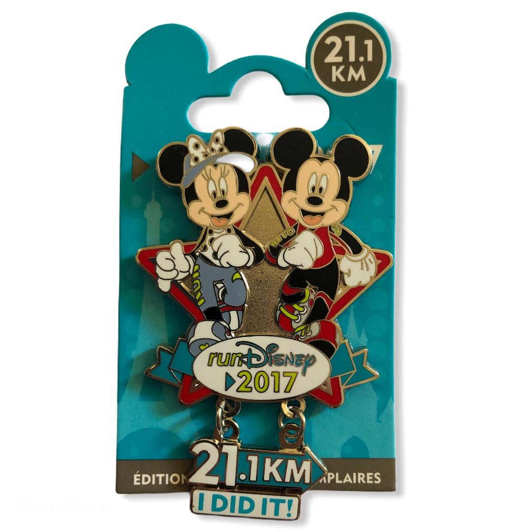 Disney - Mickey et ses amis : Pin\'s 21,1 km I Did It
