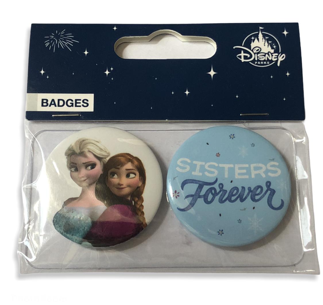 Disney - La reine des neiges : Lot de 2 badges Frozen