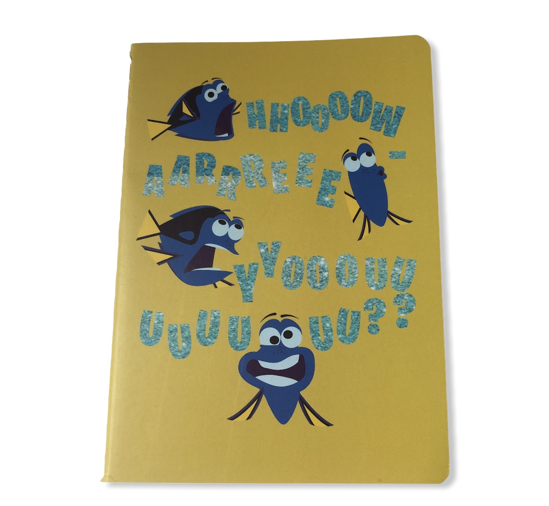 Disney-Pixar - Set de 3 carnets A6 notebook