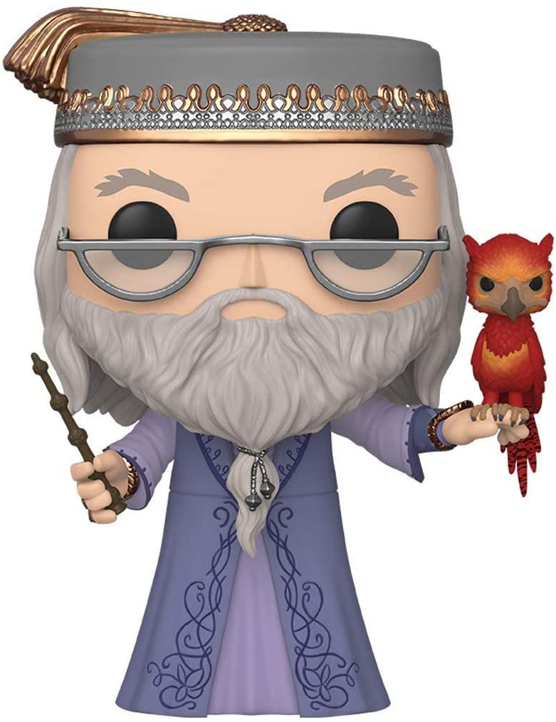 Harry Potter - Bobble Head Funko Pop N° 110 : Dumbledore W/Fawkes 10\'
