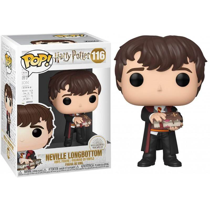 Harry Potter - Bobble Head Funko Pop N° 116 : Neville W/Monster book