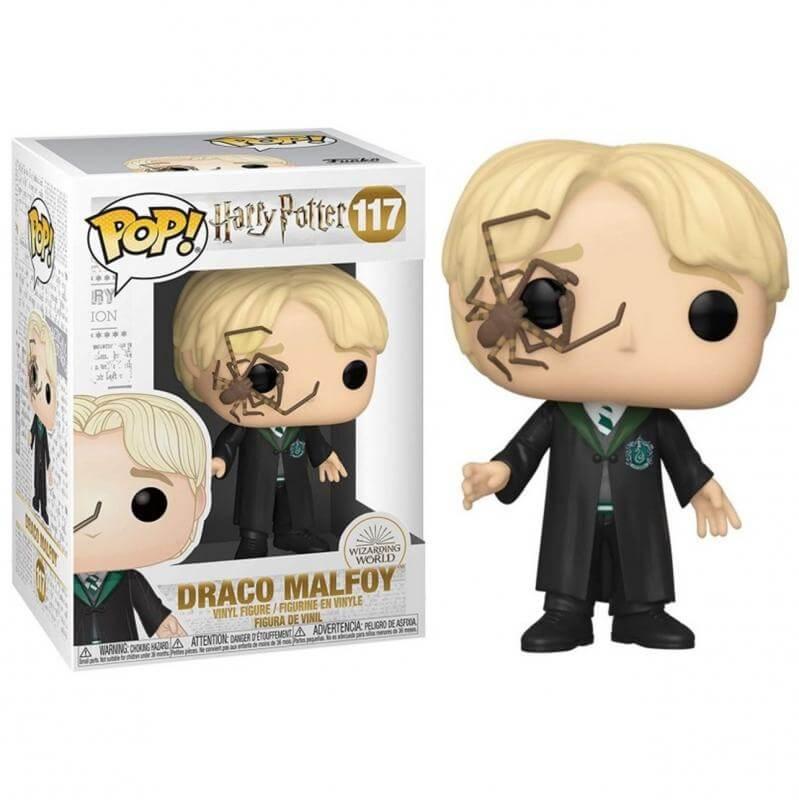 Harry Potter - Bobble Head Funko Pop N° 117 : Malfoy W/Whip Spider