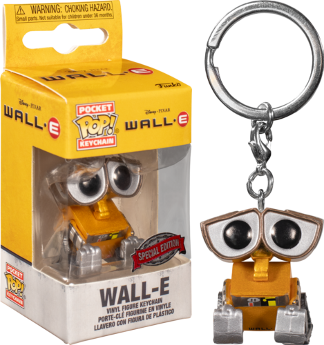 Pixar - Pocket Pop Keychain : Wall-e Special Edition