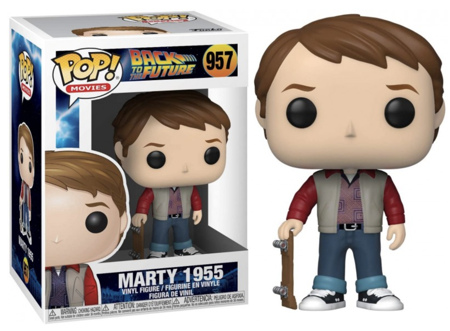 Back to the Future - Funko POP N° 957 : Marty 1955