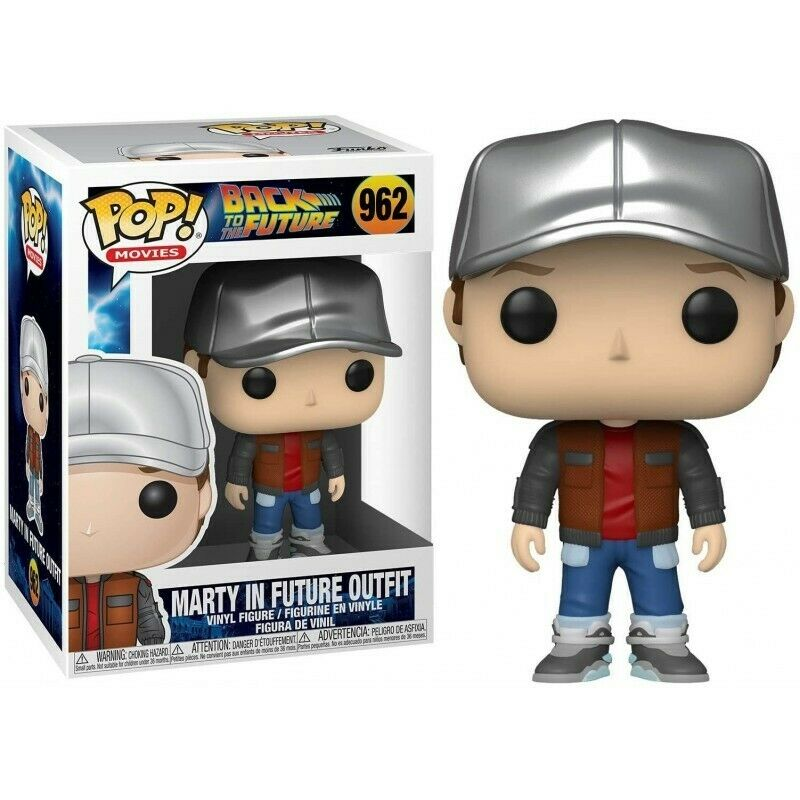 Back to the Future - Funko POP N° 962 : Marty in the futur outfit