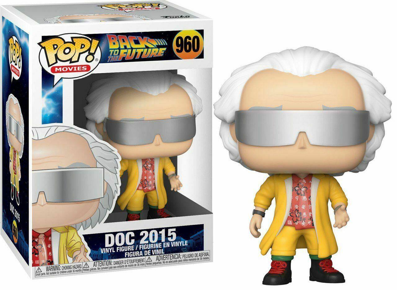 Back to the Future - Funko POP N° 960 : Doc 2015
