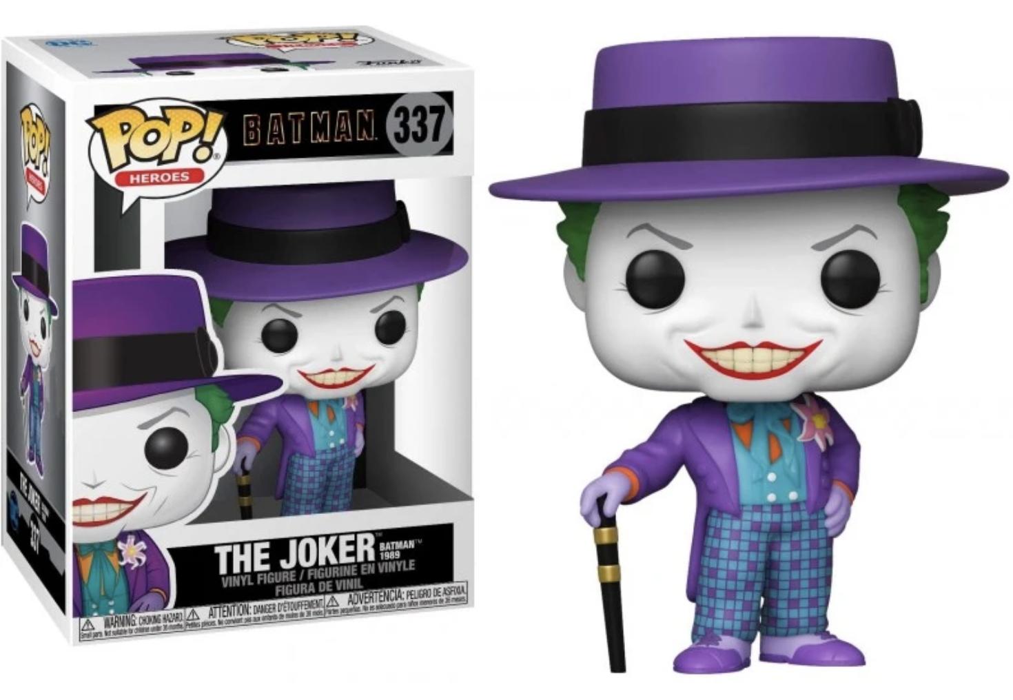 Batman 1989 - Bobble Head Funko Pop N° 337 - Joker With hat