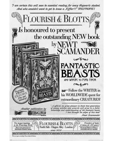 Fantastic Beats 2 - Flourish and Blotts : Poster
