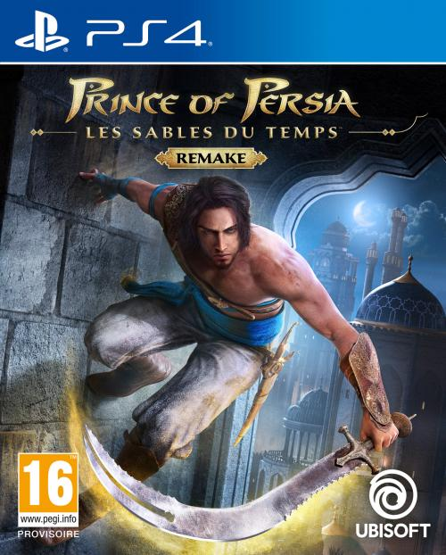 Pré-commande! Ubisoft - Playstation 4 : Prince of Persia The sand of time Remake