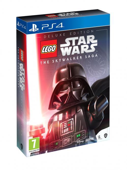 Star Wars - Playstation 4 : LEGO The Skywalker Saga Deluxe