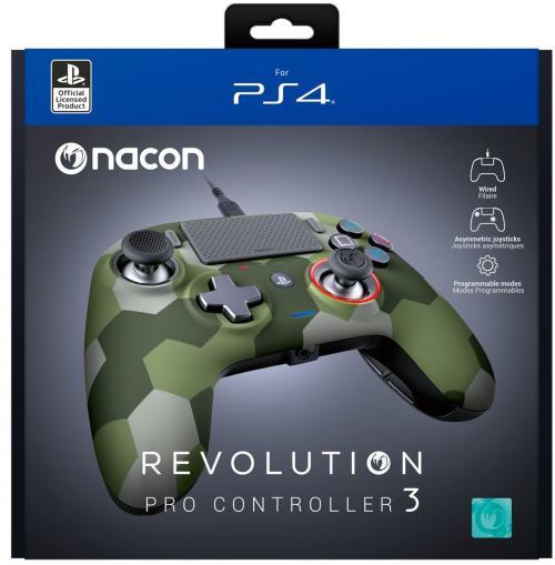 Nacon Revolution Pro 3 - Official Controller PS4 : CAMO
