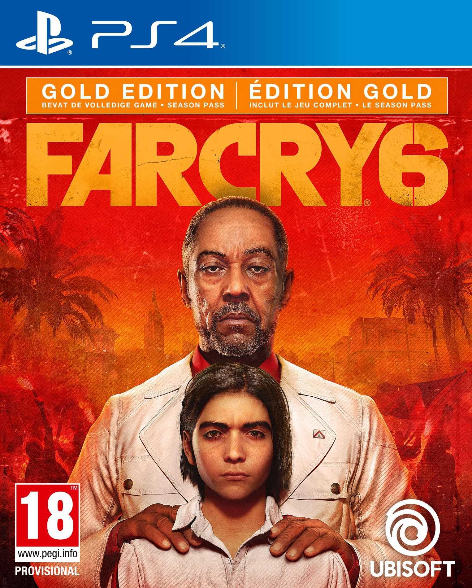 Far Cry 6 - Playstation 4 : Gold Edition