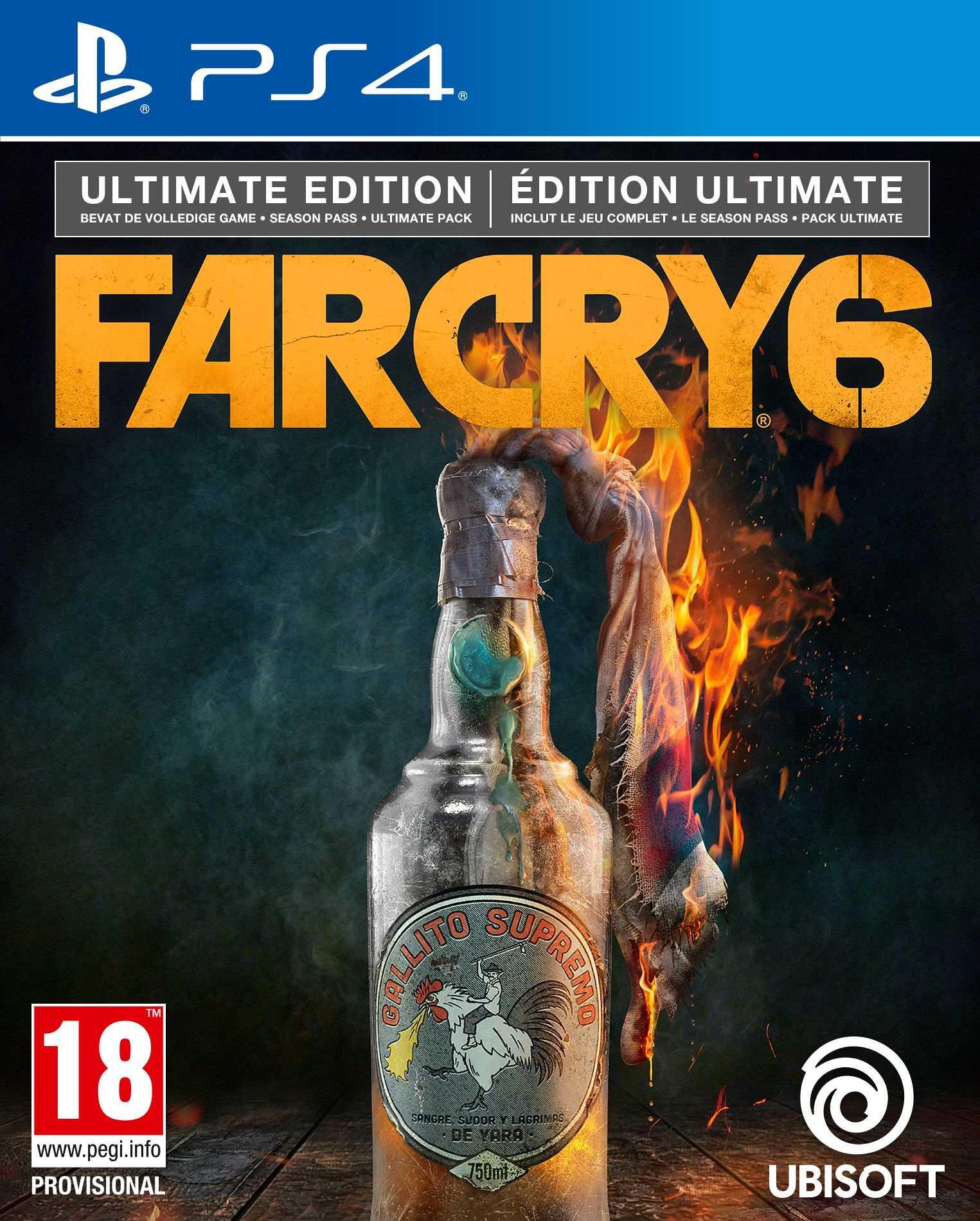 Far Cry 6 - Playstation 4 : Ultimate Edition