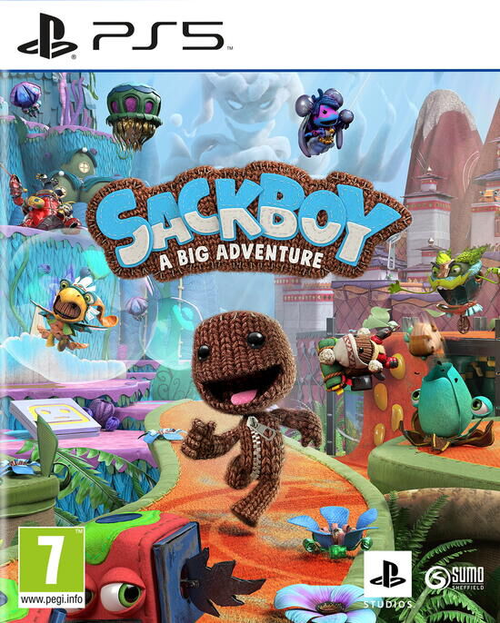 Little Big Planet - Playstation 5 : Sackboy a big adventure
