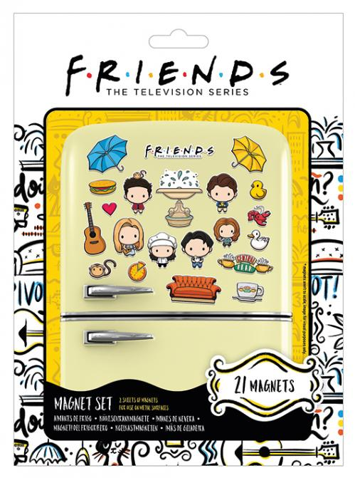 The Television Series - Friends : Set de 21 magnets