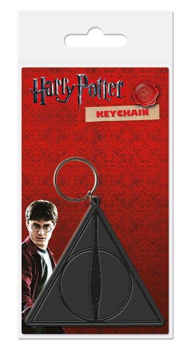 Warner Bros - Harry Potter : Porte clé Deathly Hallows caoutchouc