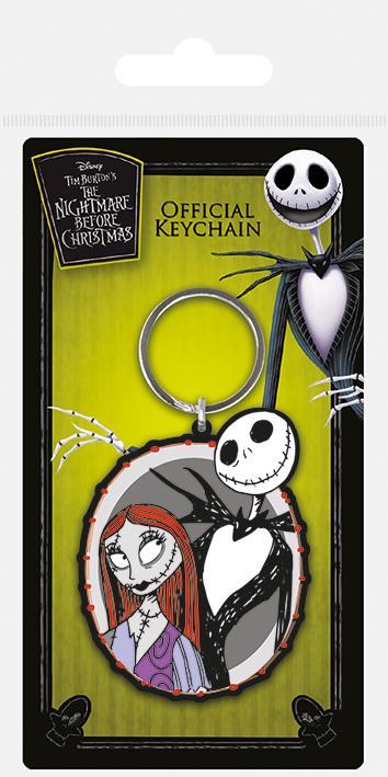 Disney - L\'étrange noël de Monsieur Jack : Porte-clé Jack & Sally