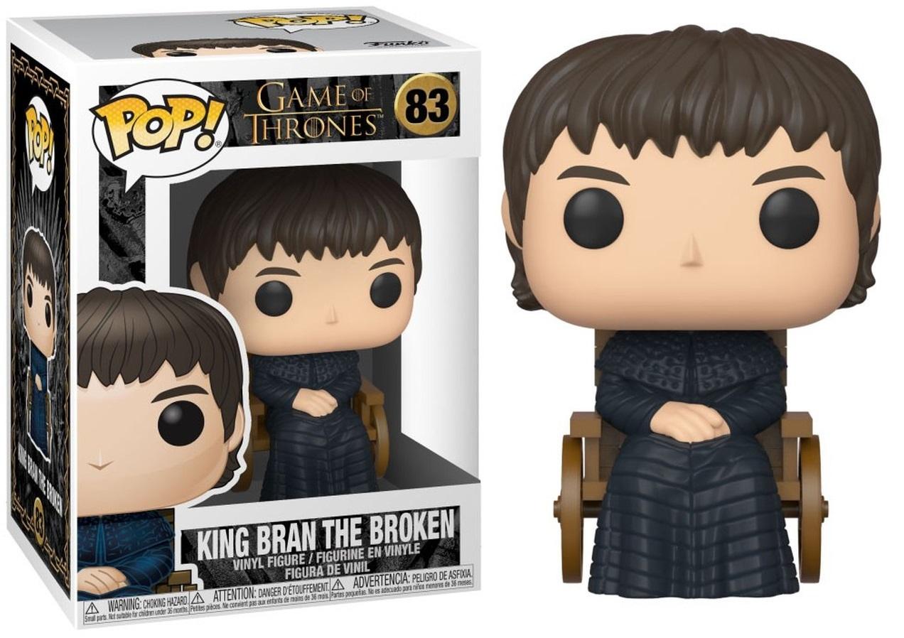 Game of Thrones - Bobble Head Funko Pop N°83 : King Bran the broken