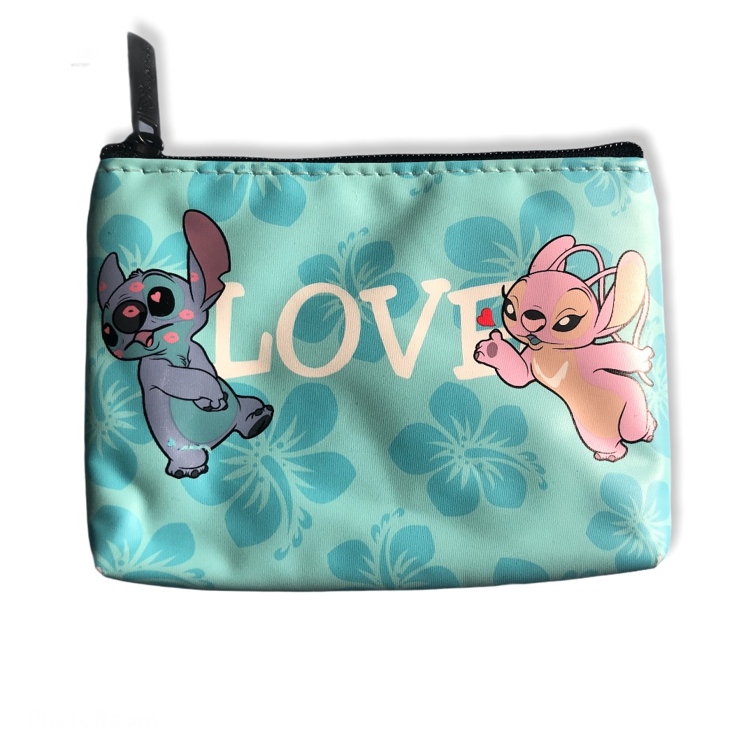 Disney - Lilo et Stitch : Mini pochette Stitch & Angel