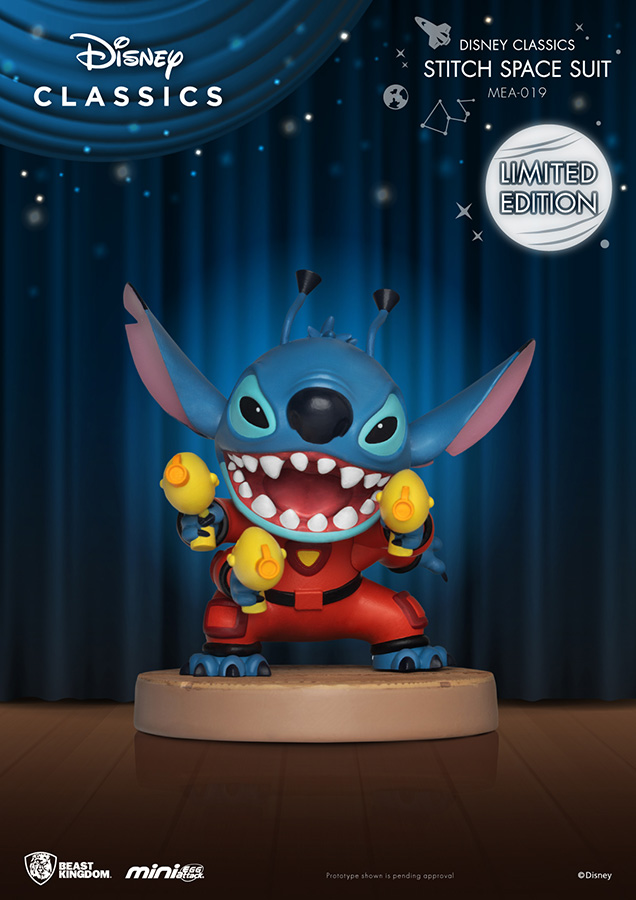 Pré-commande ! Lilo et Stitch - Mini Egg Attack Series : Figurine Stitch