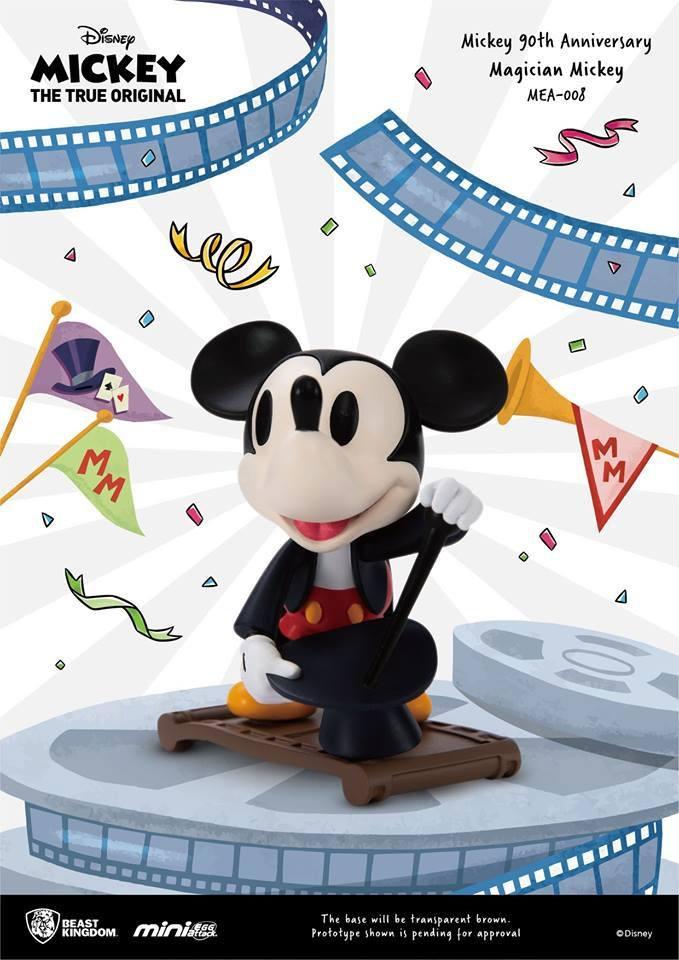 Mickey Mouse - Mini Egg Attack Series : Figurine Magician MK