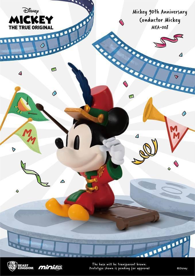 Mickey Mouse - Mini Egg Attack Series : Figurine Conductor MK