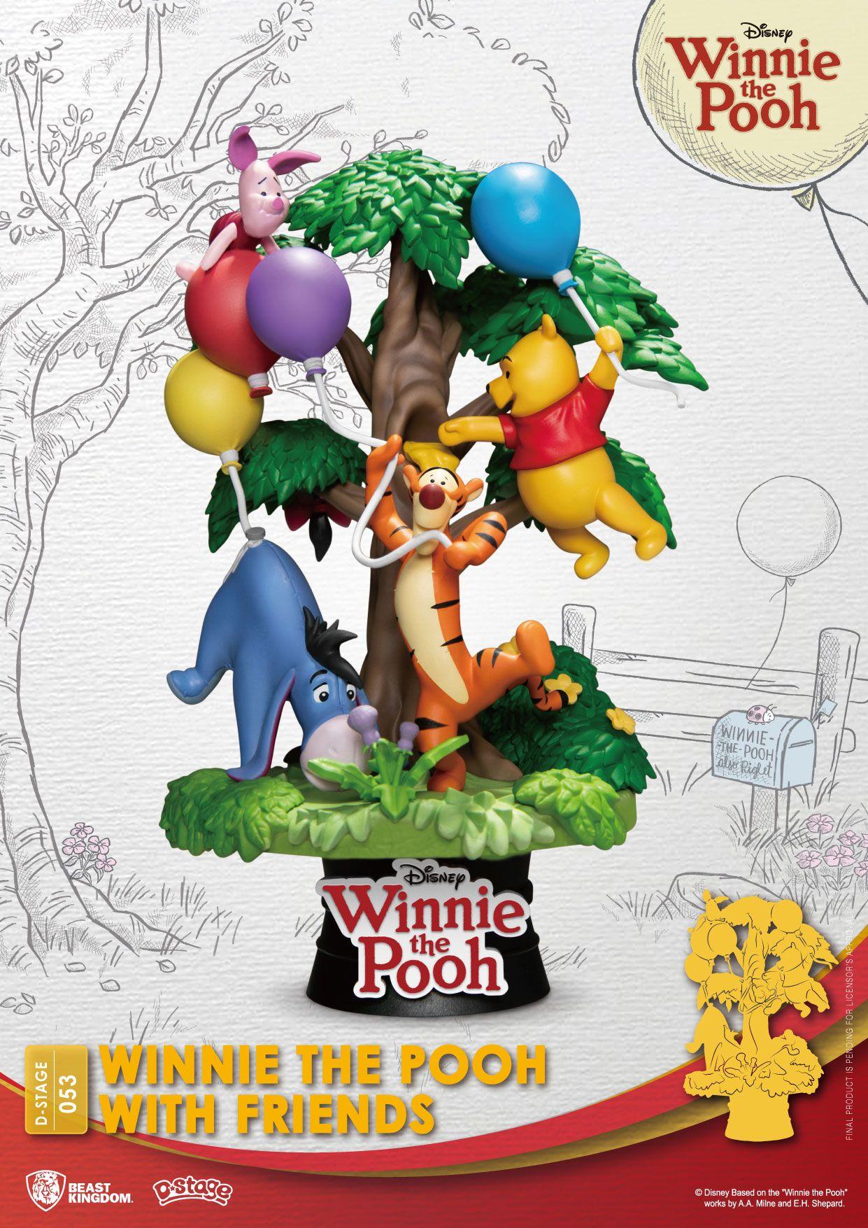 Disney - D-Stage : Figurine Winnie l\'ourson