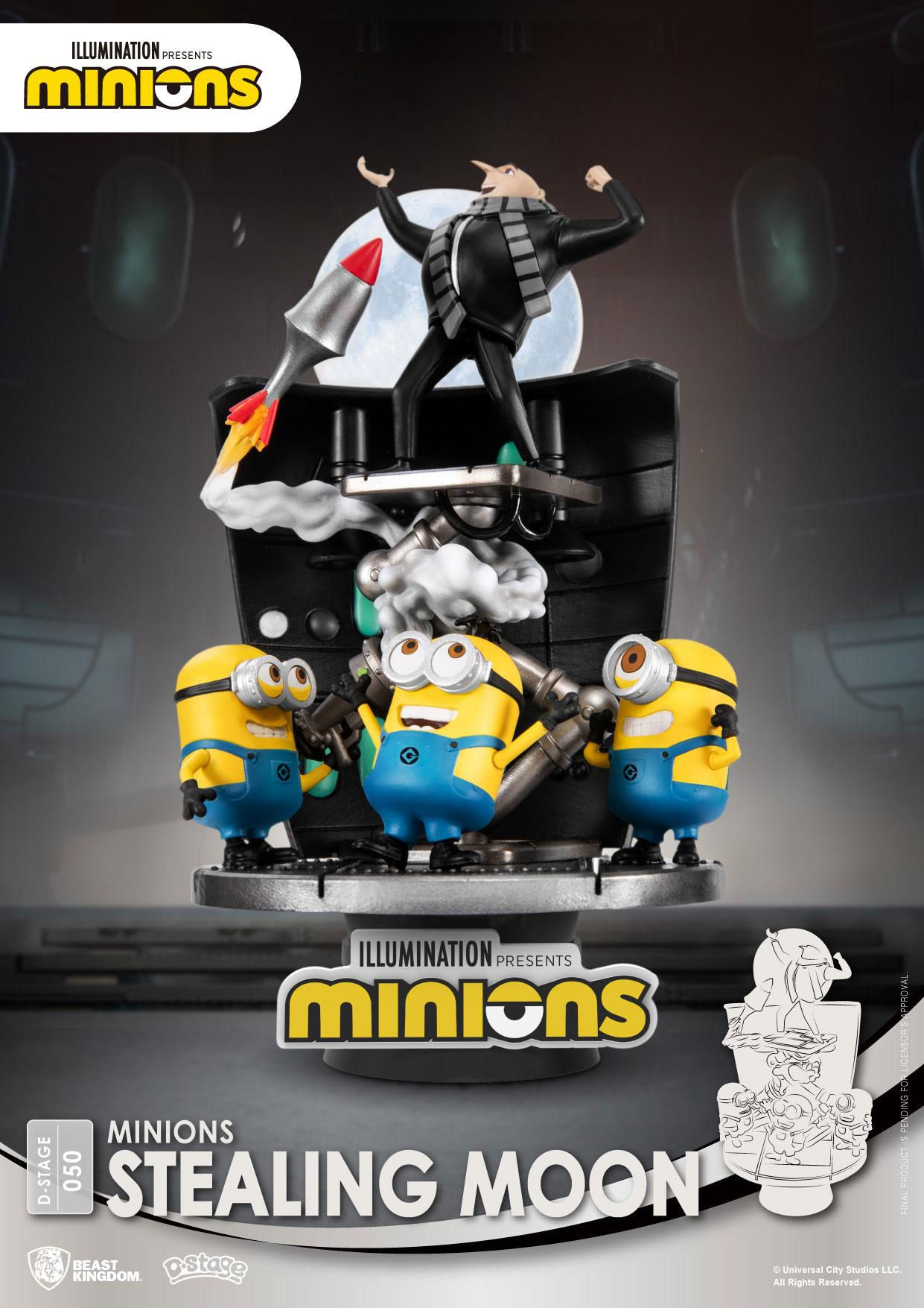 Minions - D-Stage : Figurine Stealing Moon Minions