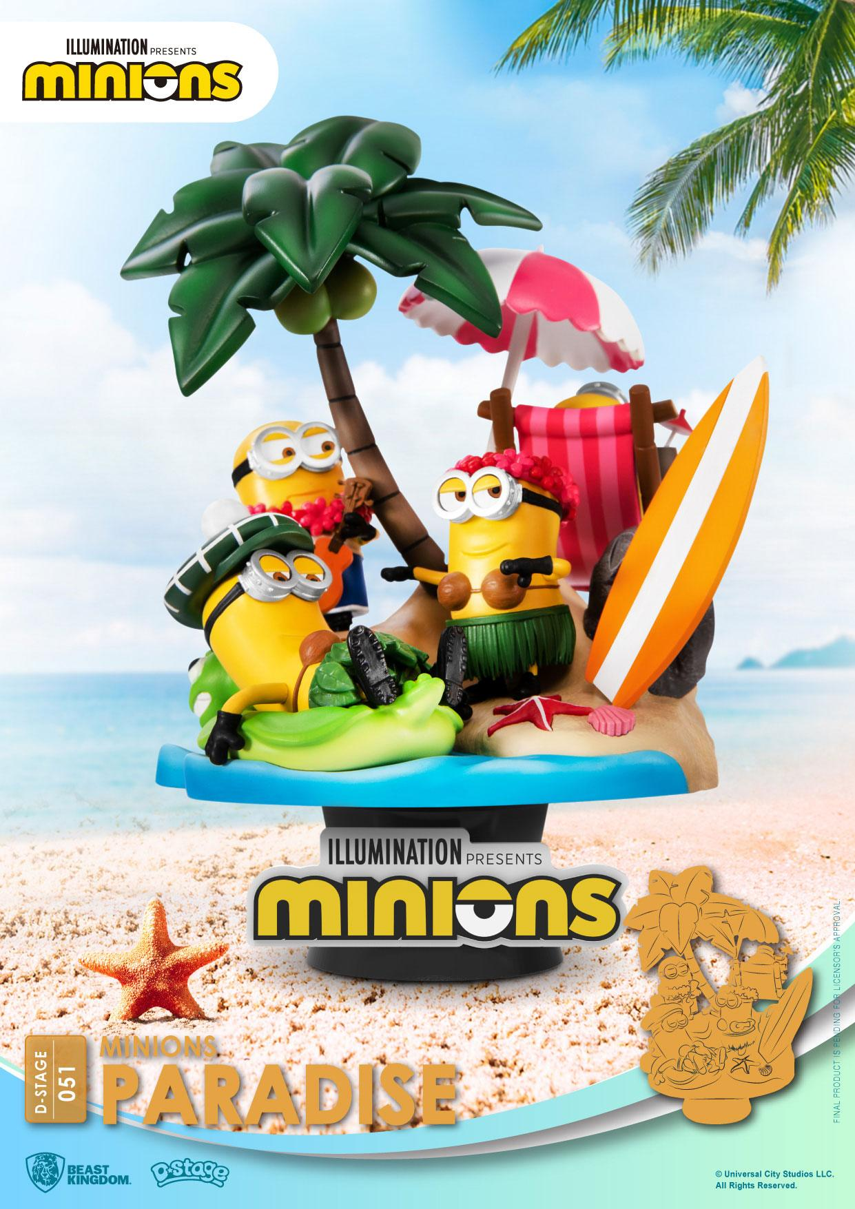 Minions - D-Stage : Figurine paradise Minions