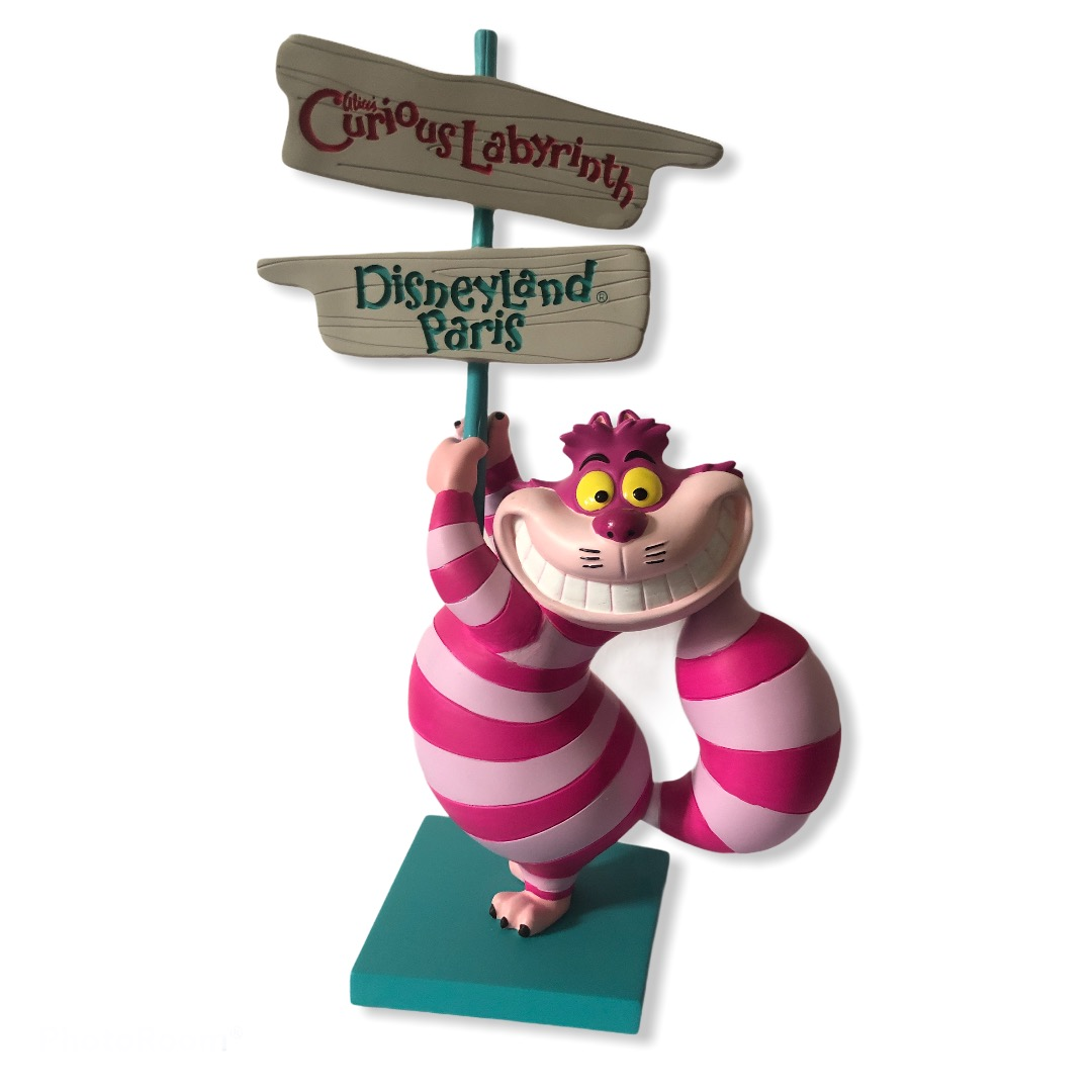 Disney - Alice au pays des merveilles : Figurine Cheshire Cat