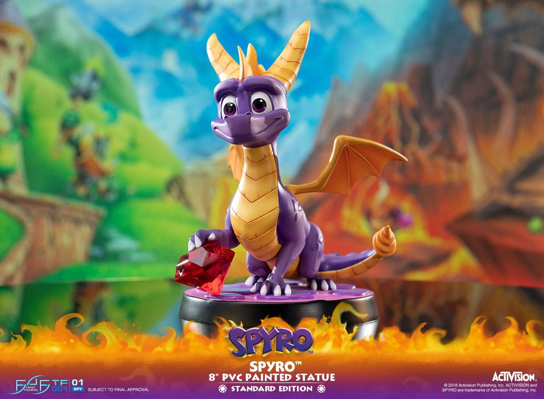 Activision - Spyro : Figurine Spyro le dragon PVC