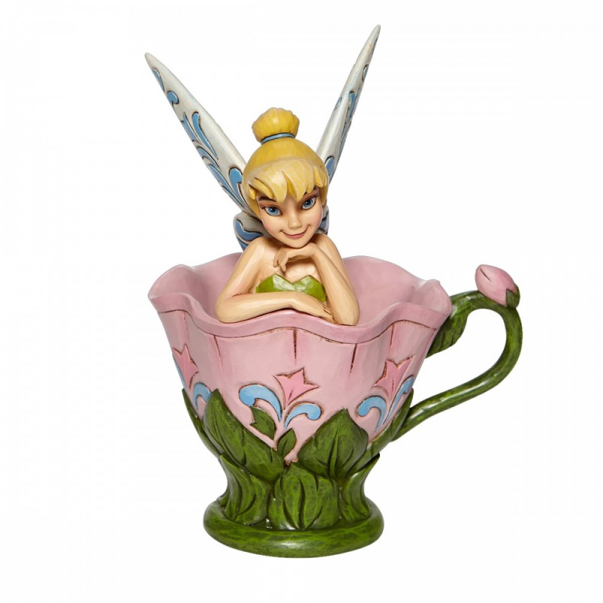 Disney Traditions - Peter Pan : Figurine Tink sitting in the flower