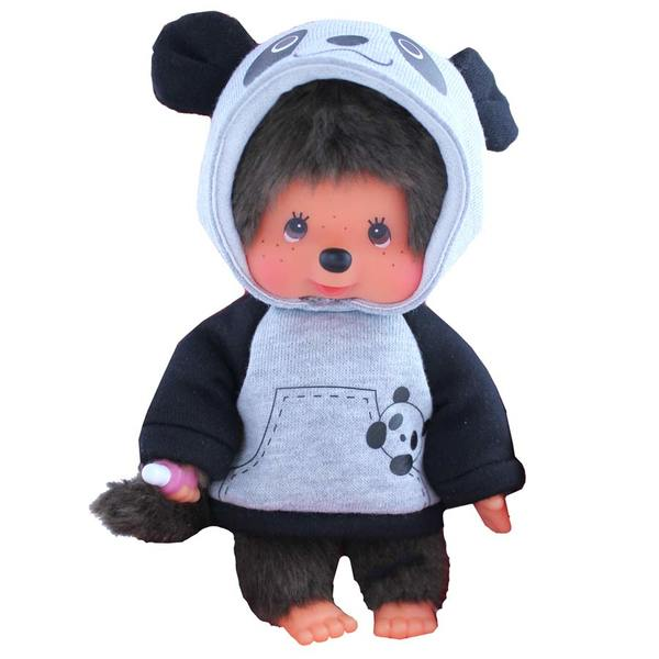 Bandai - Monchhichi : Peluche Panda