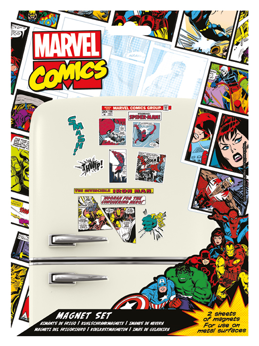 Marvel - Avengers : Set de magnets