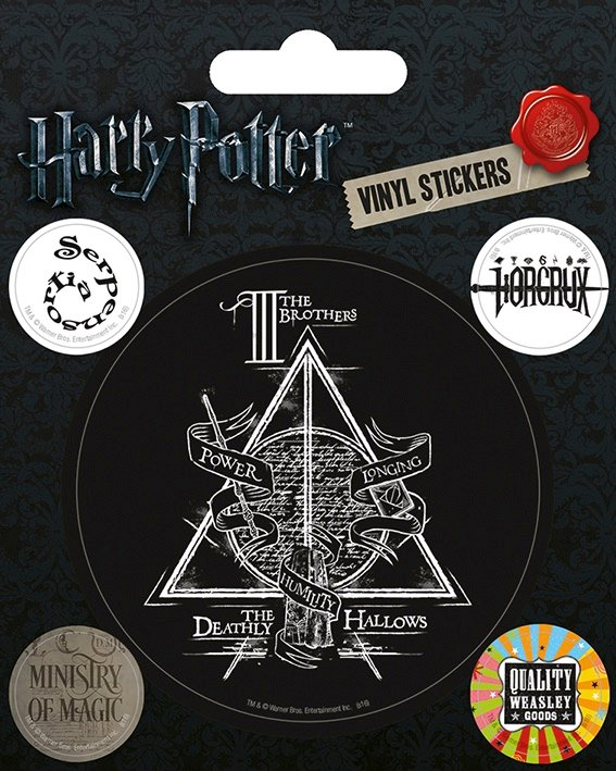 Warner Bros - Harry Potter : Vynil Stickers Symbols
