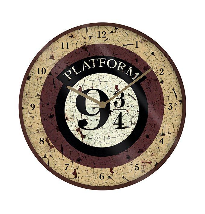 Warner Bros - Harry Potter : Horloge en plastique