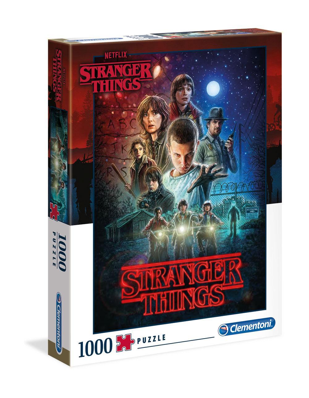 Stranger Things - Puzzle : Affiche saison 1