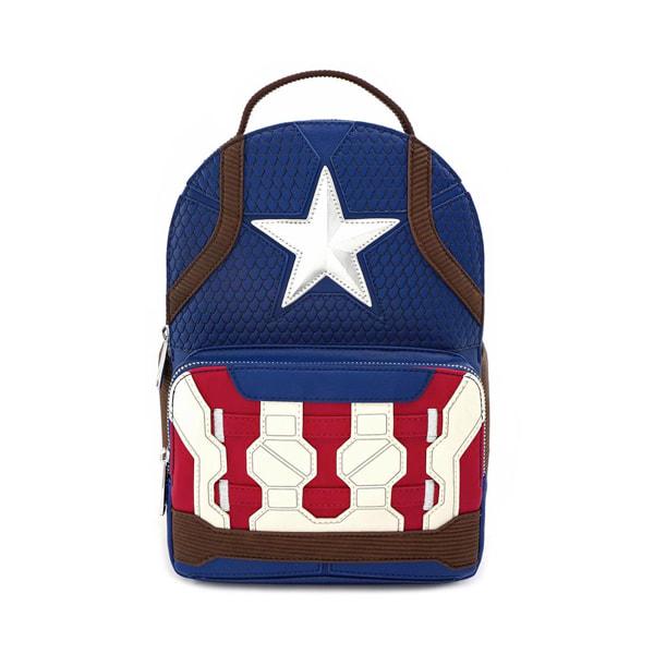 Marvel - Loungefly : Sac à dos Captain America