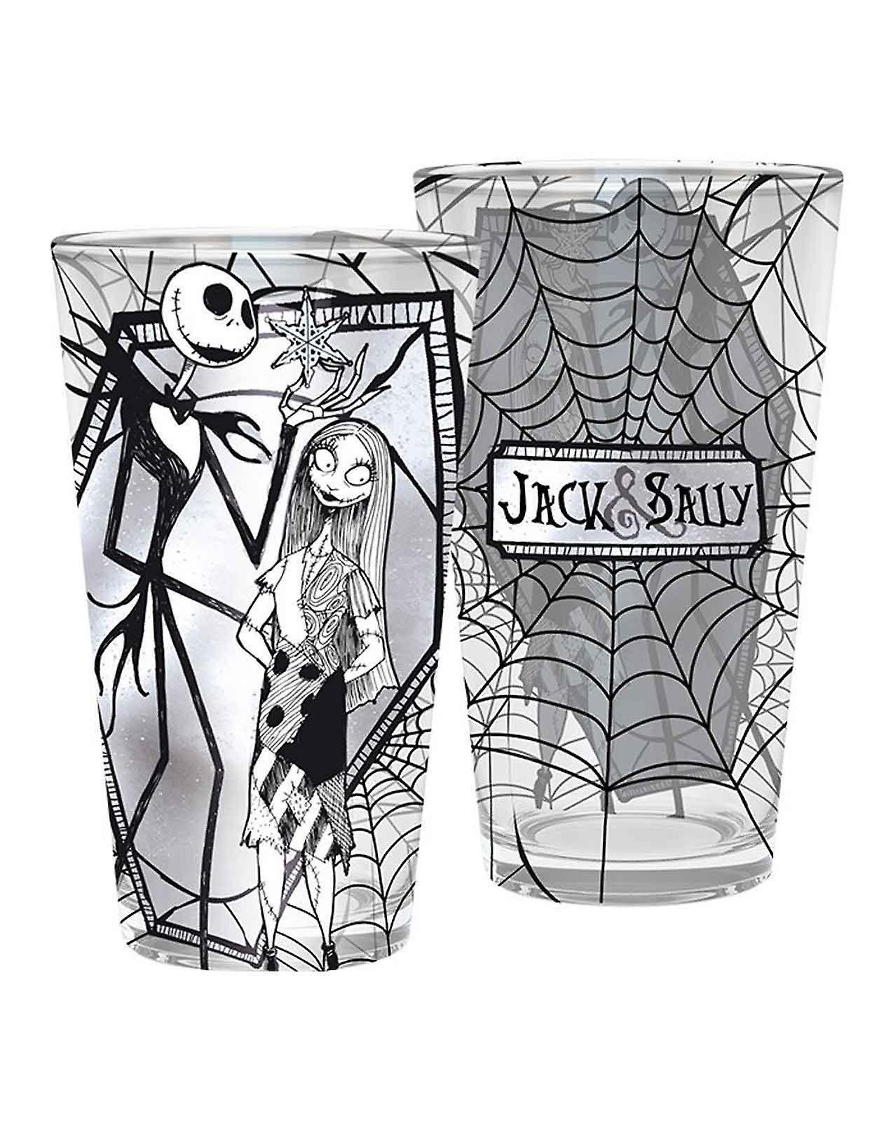 Disney - L\'étrange noël de M. Jack : Verre « Jack & Sally »