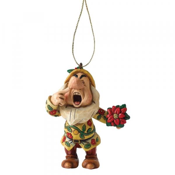 Disney Traditions - Blanche-Neige : Décoration à suspendre Atchoum