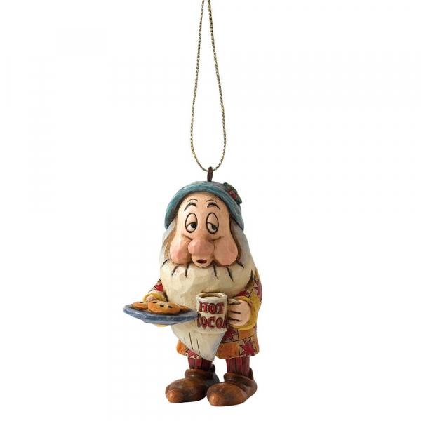 Disney Traditions - Blanche-Neige : Décoration à suspendre Dormeur