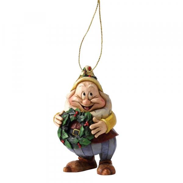 Disney Traditions - Blanche-Neige : Décoration à suspendre Joyeux