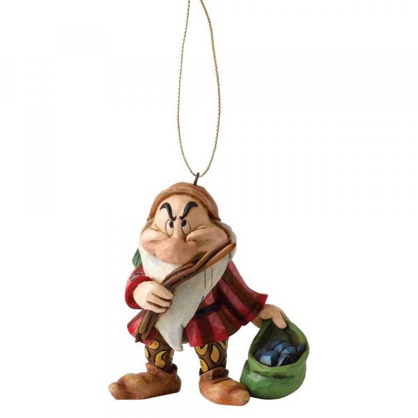 Disney Traditions - Blanche-Neige : Décoration à suspendre Grincheux