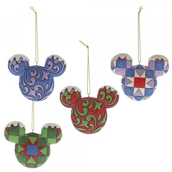 Disney Traditions - Mickey Mouse : Décoration à suspendre Tête de MK