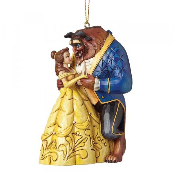 Disney Traditions - La Belle et la Bête : Décoration à suspendre