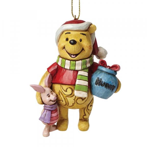 Disney Traditions - Winnie l\'ourson : Déco à suspendre Winnie & Porcinet