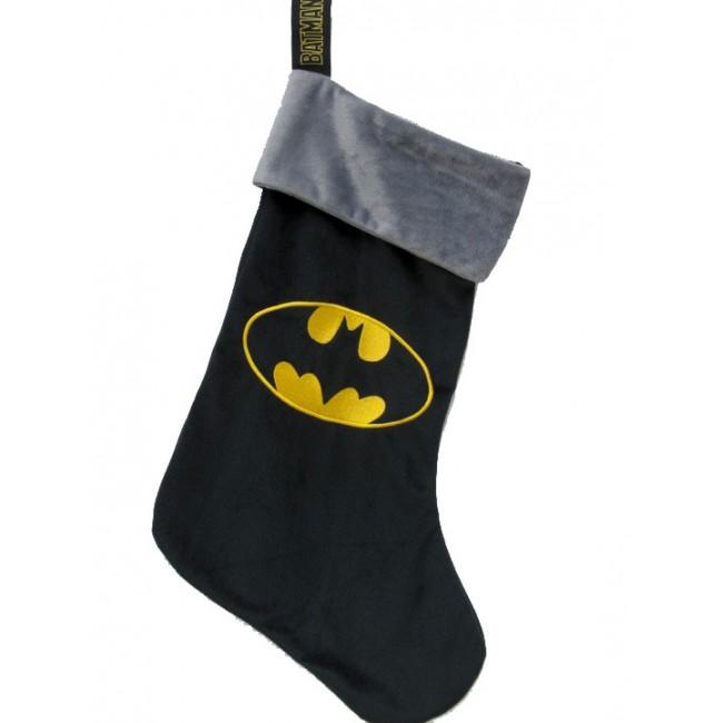 DC Comics - Batman : Chaussette de noël logo