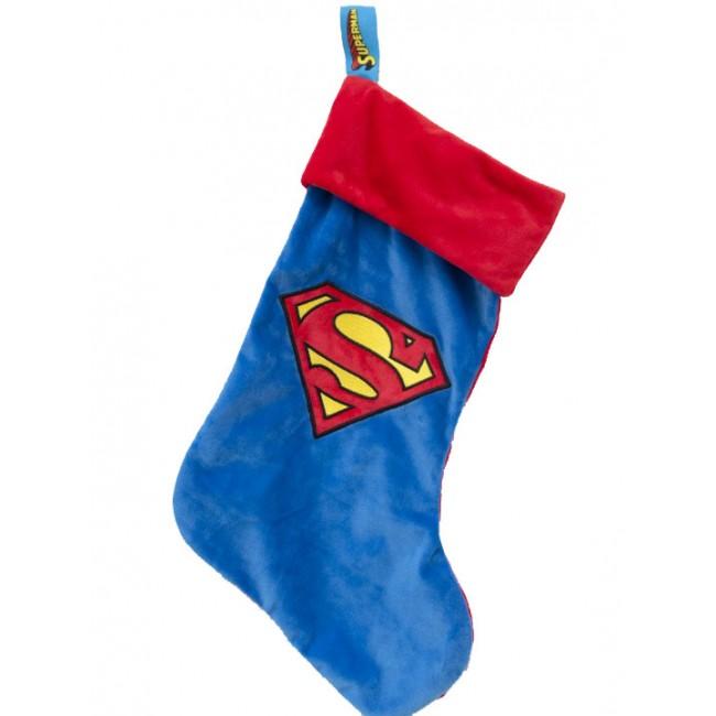 DC Comics - Superman : Chaussette de noël logo