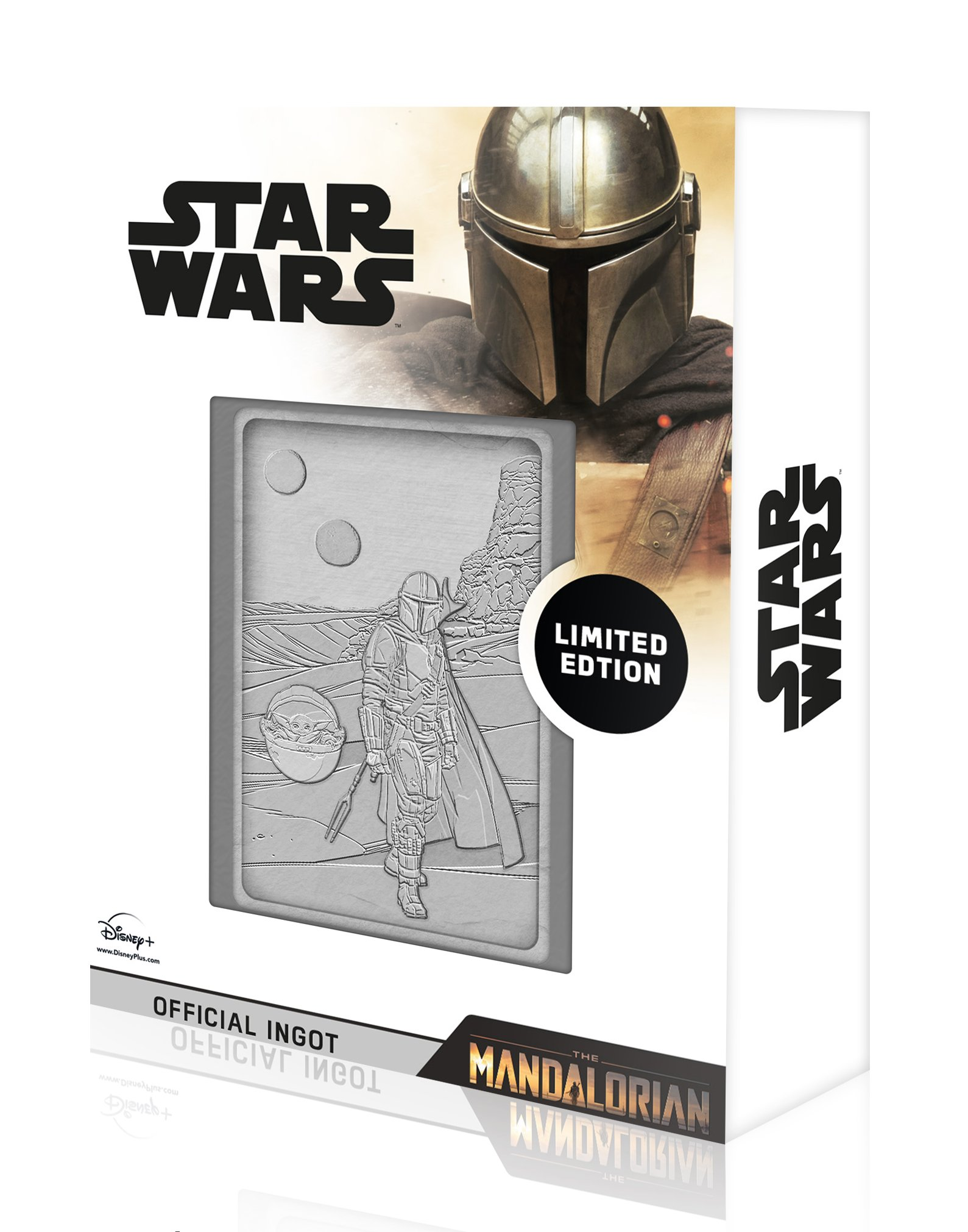 Star Wars - The Mandalorian : Lingot en métal collector